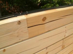 Bad Log Split in Wall