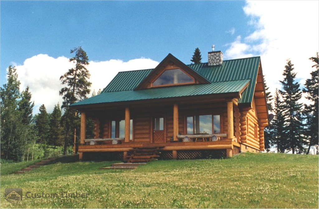 Log home exterior pictures custom timber log homes for 2000 sq ft log cabin cost