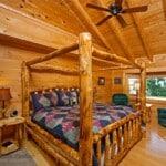 Log Home Master Suite
