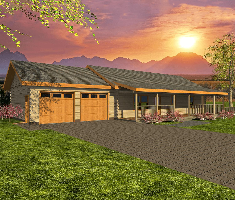 Phoenix Log Home