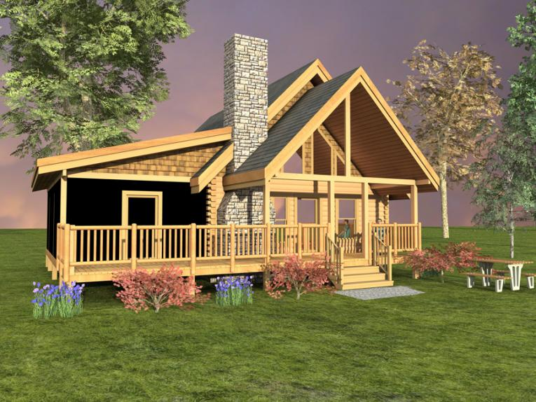 Getaway log home custom timber log homes for 2000 sq ft log cabin cost