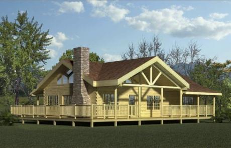 Pleasant Valley Log Home