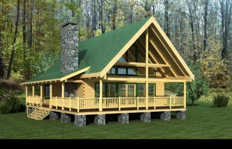 Timberview Log Home