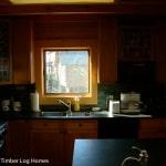 Watts Bar Log Home Kitchen Window