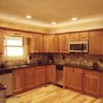 Log Home Kitchen 2