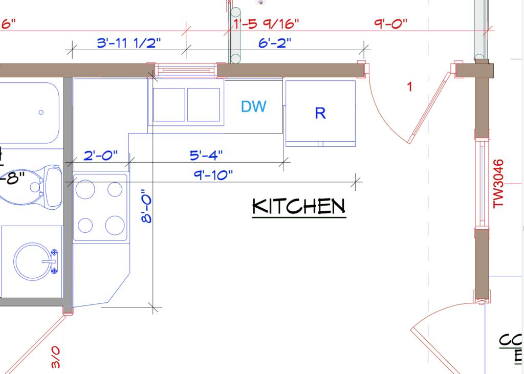York Prelim Kitchen Layout