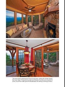 timber home living custom timber log homes-7