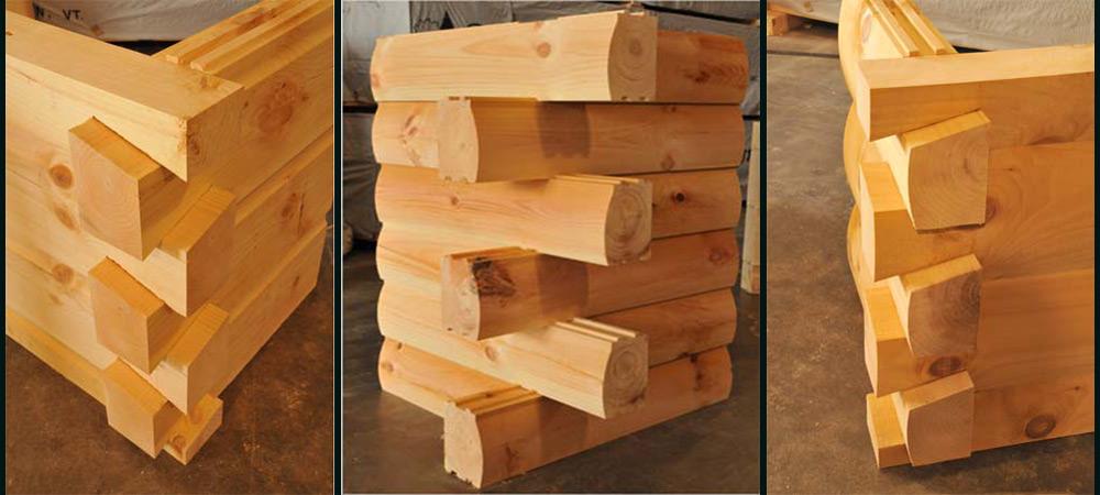 6x12 - 8x12 - 8x12 D Log Styles