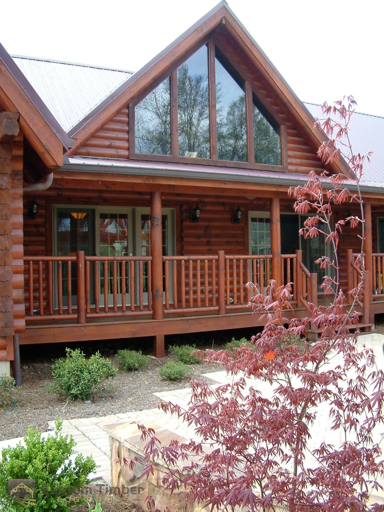 Exterior: Log Home Exterior Pictures