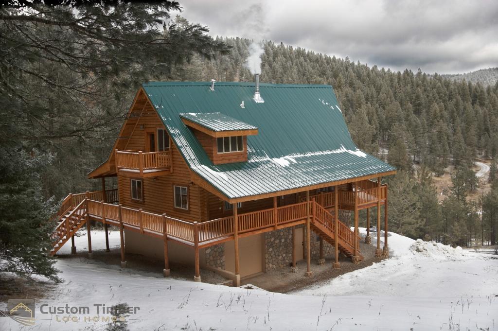 Log Home Exterior Pictures Custom Timber Log Homes