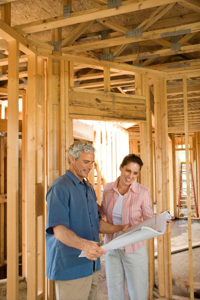 building a log home