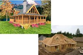 Log Homes vs Conventional Homes
