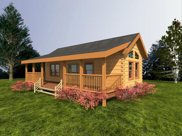 Log home plans under 1 250 sq ft custom timber log homes for Log homes under 1000 square feet