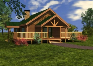 Crystal Lake Log Home