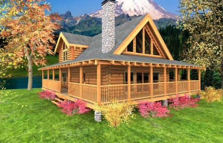 Mountain Crest Log Home