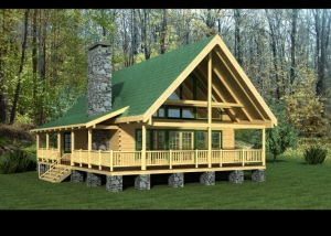 Timberview Log Home