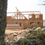Dovetail Log Home
