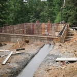 Footers Poured Walls Formed