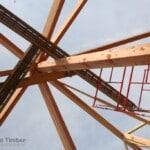 Ridge Beam For Log Home
