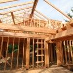 Interior Framing Log Home