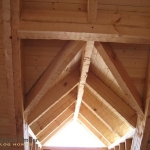 Heavy Timber Roof Framing