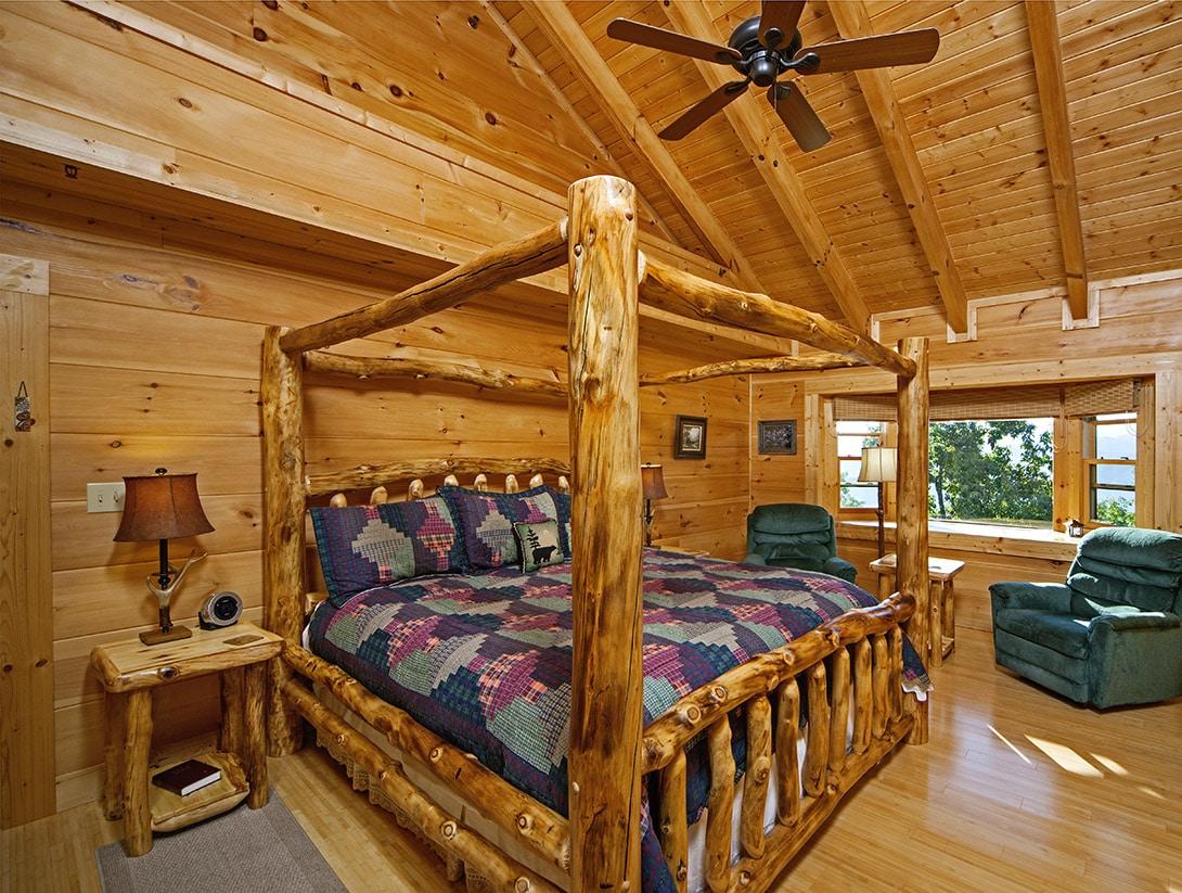 log cabin bedrooms chilhowee pics custom timber log homes 12156