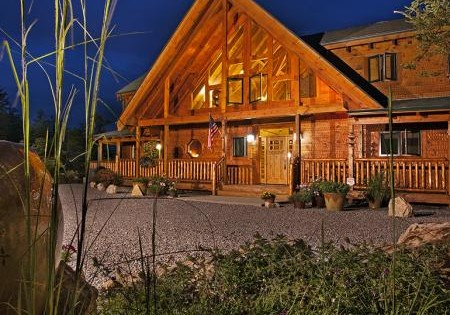 Log Home Package Pricing - Chilhowee Model Shown